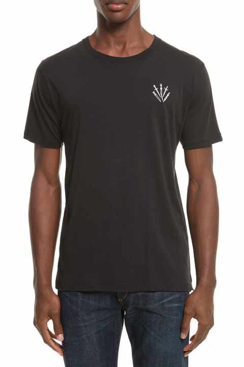 Dagger Embroidery Tee - Pavilion