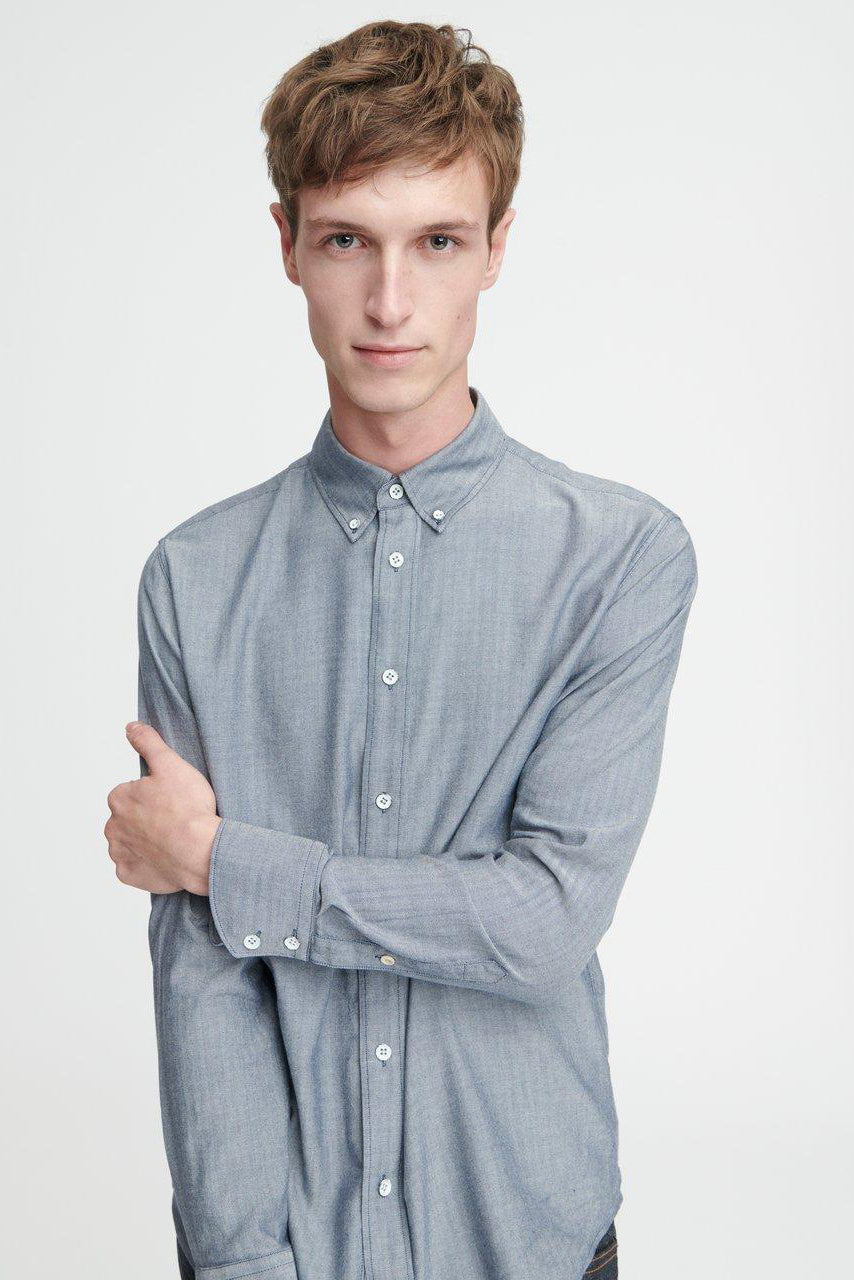 Fit 2 Tomlin Shirt - Navy/White - Pavilion