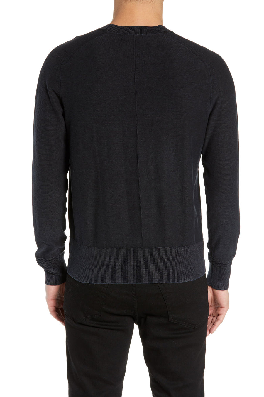 Lance Crewneck Sweater - Shadow Grey