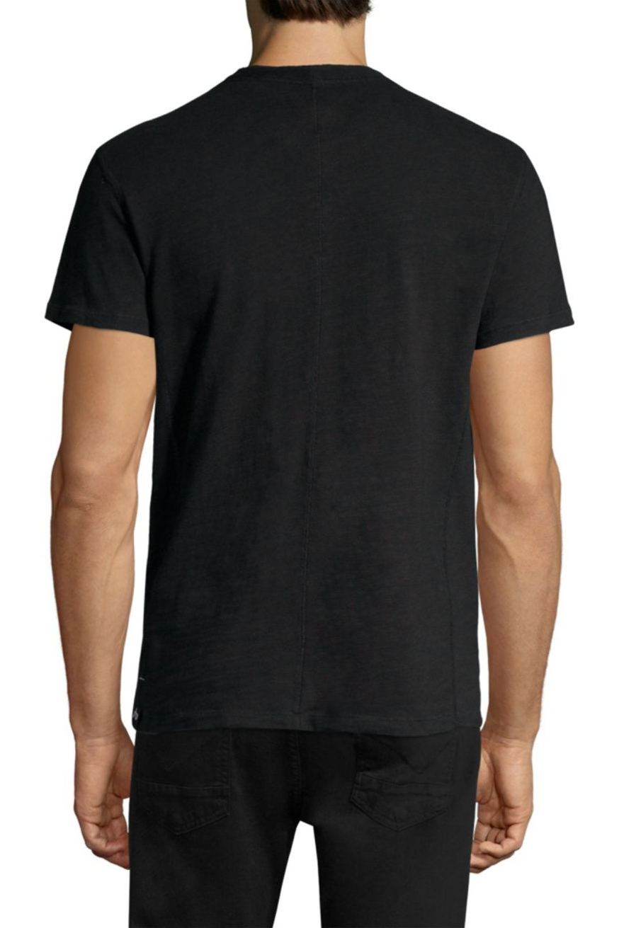 Standard Issue SS Henley - Black - Pavilion