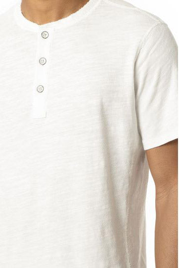 Standard Issue SS Henley - White - Pavilion