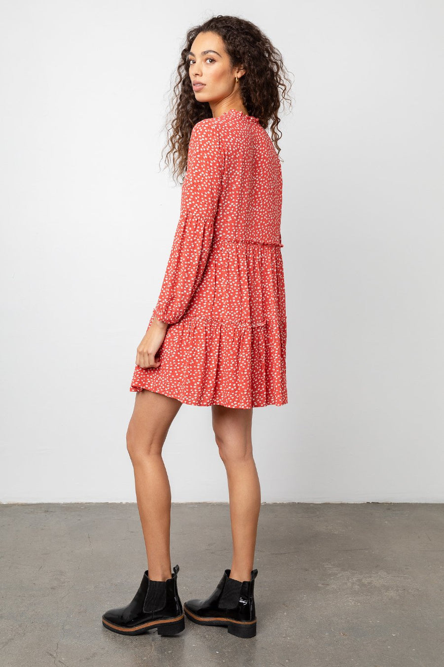 Everly Dress - Carmine Dress