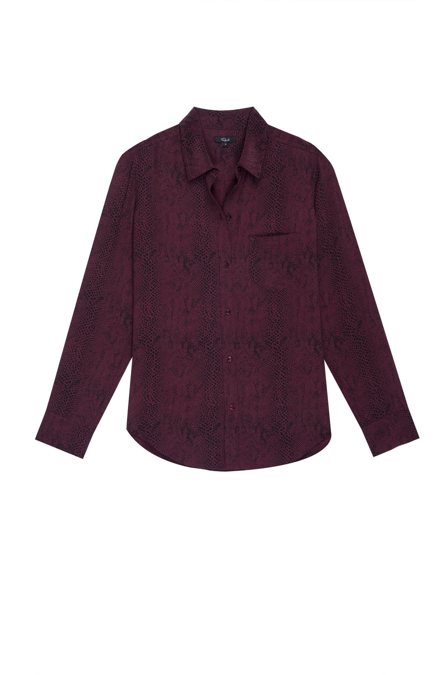 The Kate Blouse - Red Python - Pavilion