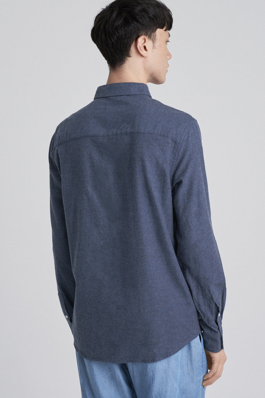 Crosby Flannel L/S Shirt - Midnight - Pavilion