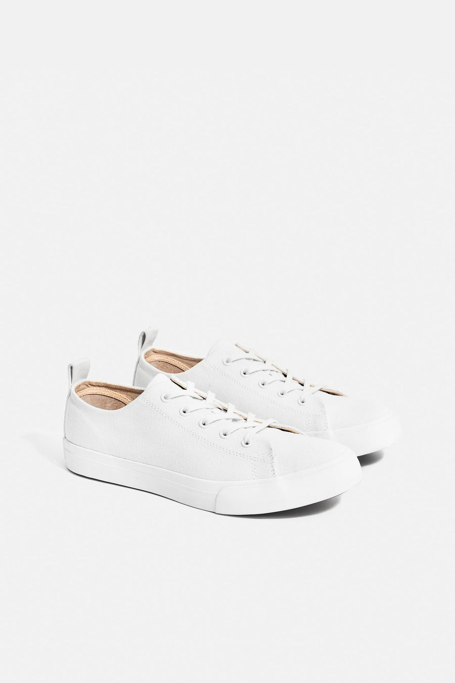 Mike Low-Top Sneakers White - Pavilion