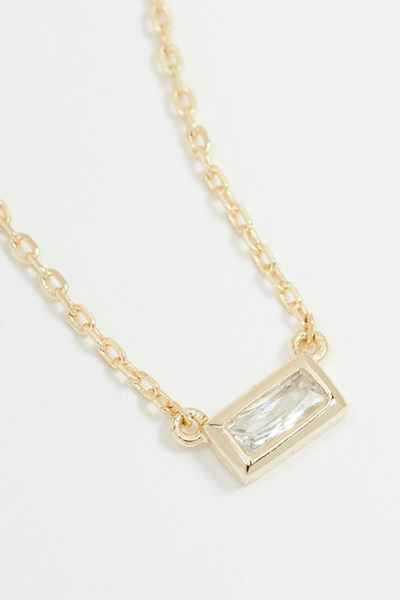 Baguette Necklace - YG - Pavilion