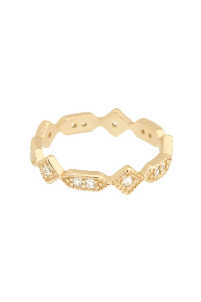 Just Mine Band Ring - Yellow Gold - Pavilion