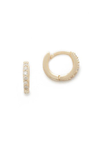 Katerina Hoop Earrings - Pavilion