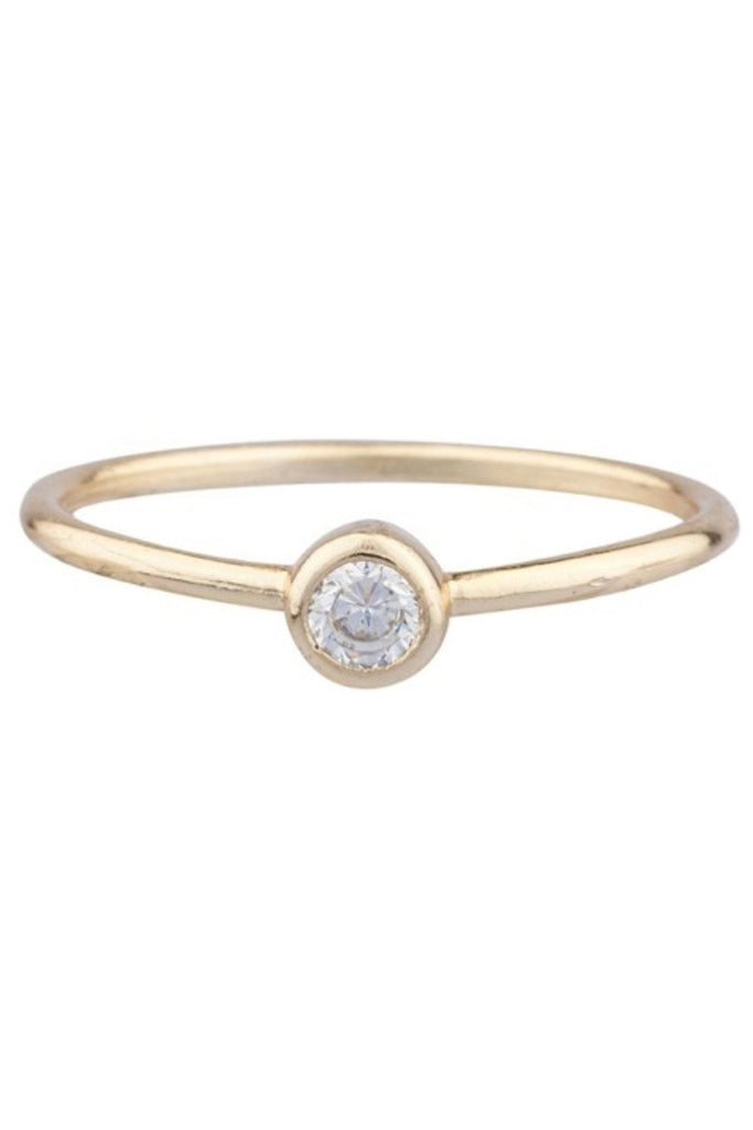 Shashi Solitaire Ring - Pavilion