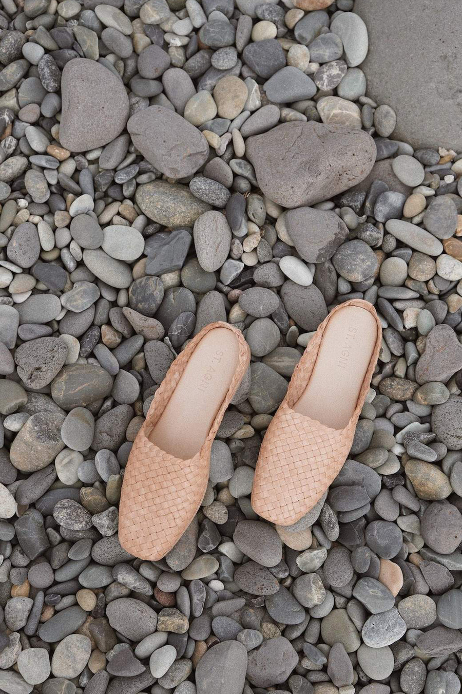 Agnese Woven Flat - Nude - Pavilion