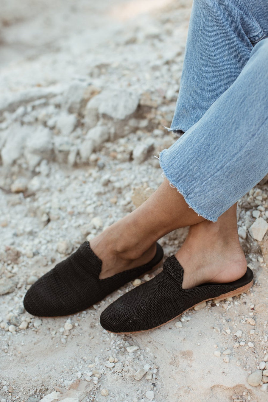 Desi Knit Loafer - Black - Pavilion