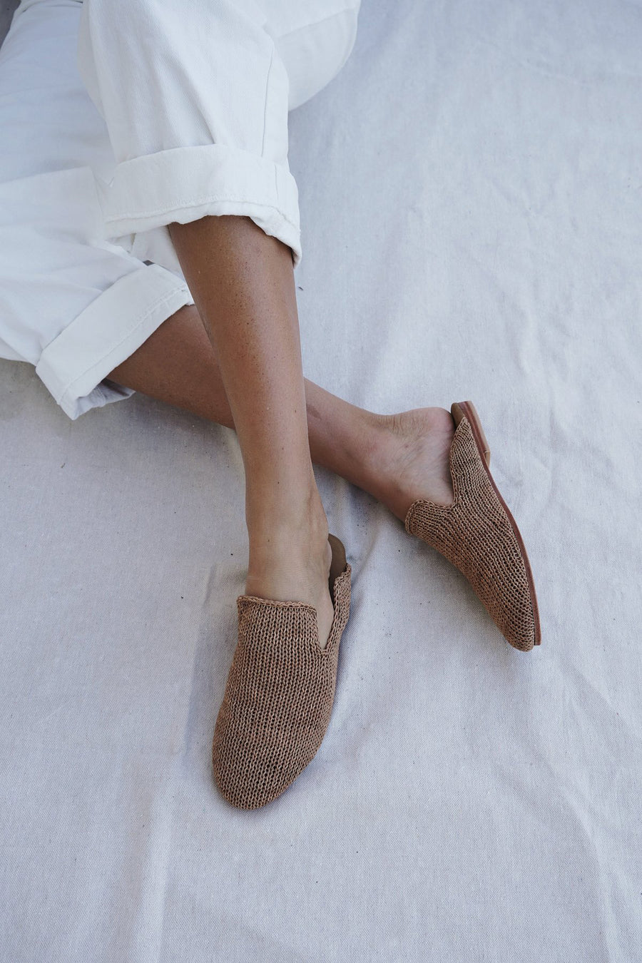 Desi Knit Loafer - Tan - Pavilion