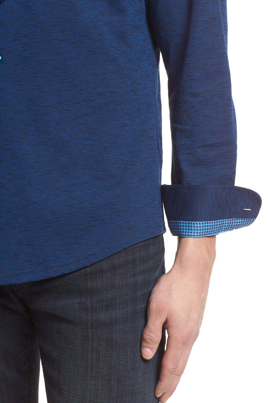Flame Knit Long Sleeve - Navy - Pavilion