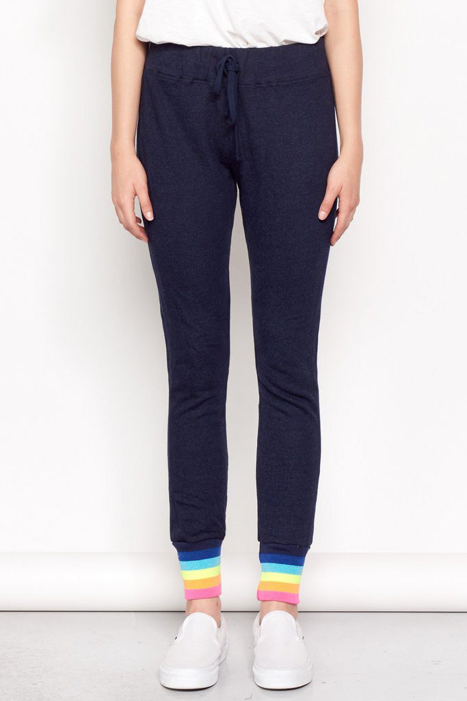 Rainbow Rib Sweatpant - Midnight - Pavilion