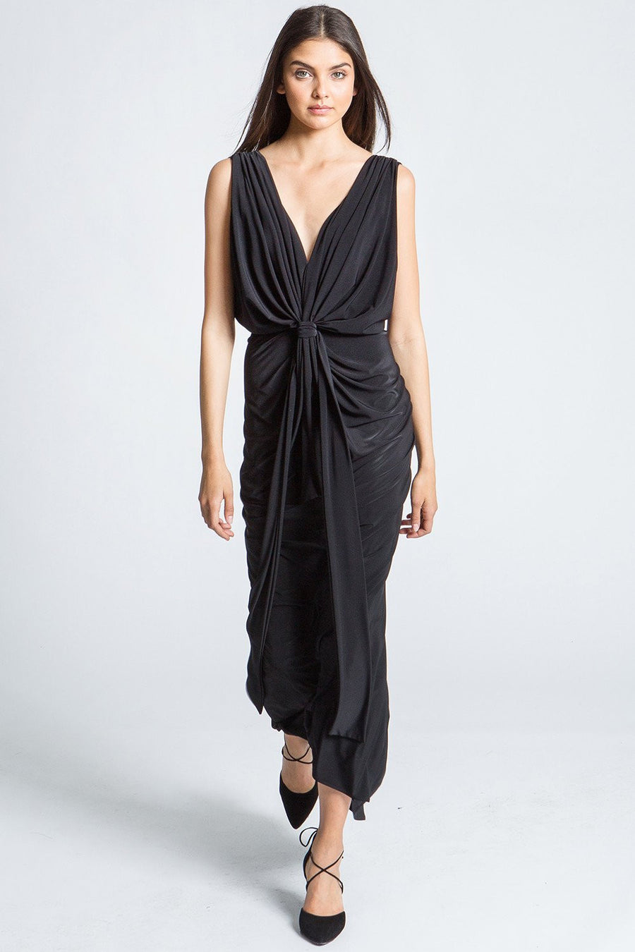 Xenia Dress - Black - Pavilion