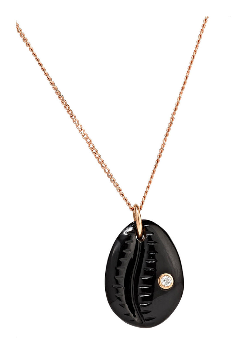 Cauri N°2 Necklace - Onyx - Pavilion
