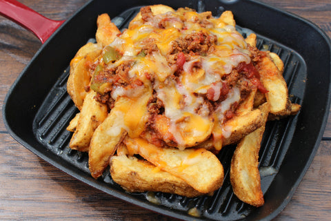 16 oz Chili Fries (Add On)