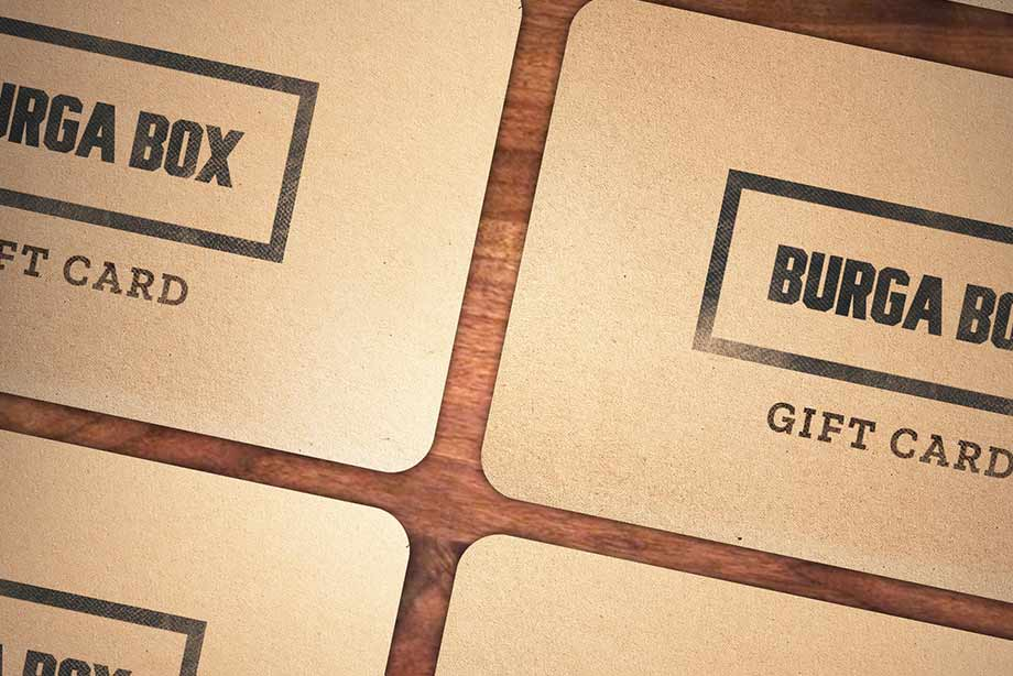 BurgaBox Gift Card