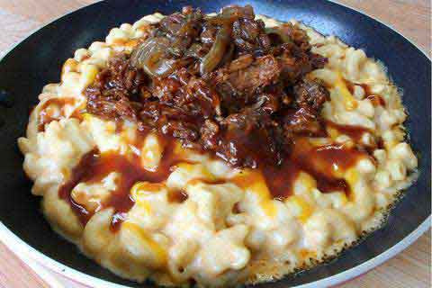 32 oz Pulled Pork Mac & Cheese