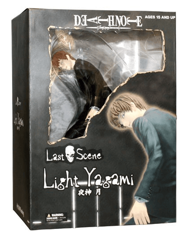 Death Note: Light Yagami Statue (Last Scene) - NapGeek Collectibles
