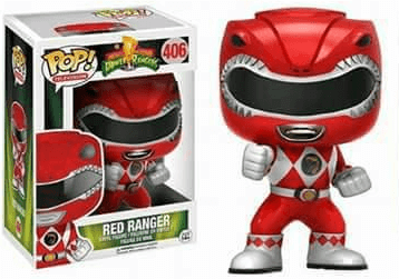 Pop! TV: Power Rangers - Red Ranger (Action Pose) - NapGeek Collectibles