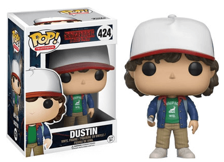 Pop! TV: Stranger Things - Dustin - NapGeek Collectibles