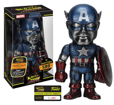 Captain America Titanium Funko Hikari - NapGeek Collectibles