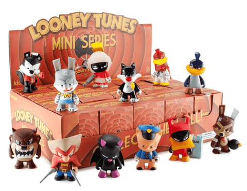 "Looney Tunes x KidRobot 3"" Mini Series 4-Pack - NapGeek Collectibles - 1"