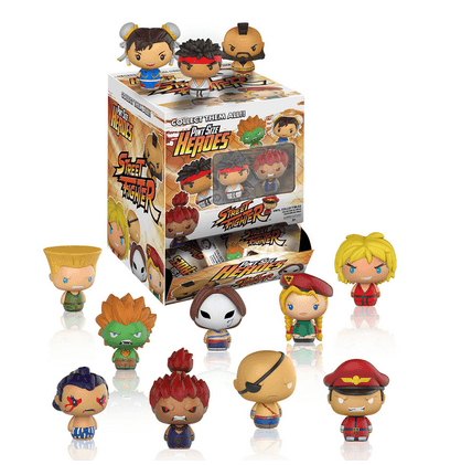 Street Fighter Pint Size Heroes Mini Figures Case - NapGeek Collectibles