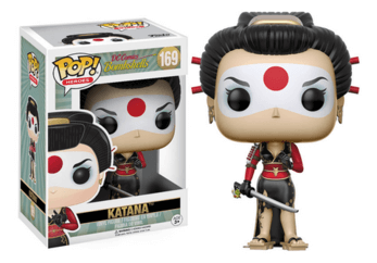 DC Comics Bombshells Katana Pop! Vinyl - NapGeek Collectibles