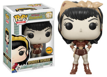 DC Comics Bombshells Wonder Woman *Chase* Pop! Vinyl - NapGeek Collectibles
