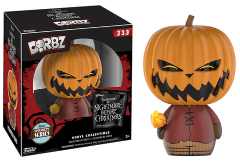 Dorbz Disney: The Nightmare before Christmas - Pumpkin King - NapGeek Collectibles