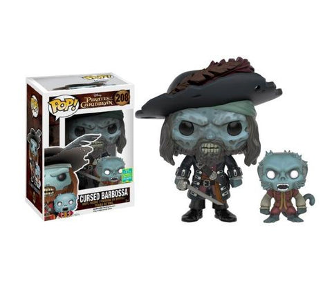 Pop! Disney: Pirates of the Caribbean - Ghost Barbossa (Summer Convention 2016 Exclusive) - NapGeek Collectibles - 1