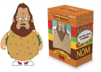 Bob's Burgers: Beefsquatch Medium Figure - NapGeek Collectibles - 1