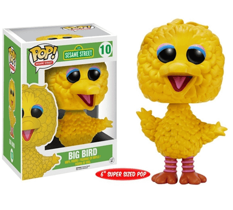 Pop! TV: Sesame Street - Big Bird - NapGeek Collectibles