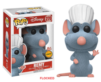 Ratatouille Remy (Flocked) *Chase* Pop! Vinyl - NapGeek Collectibles