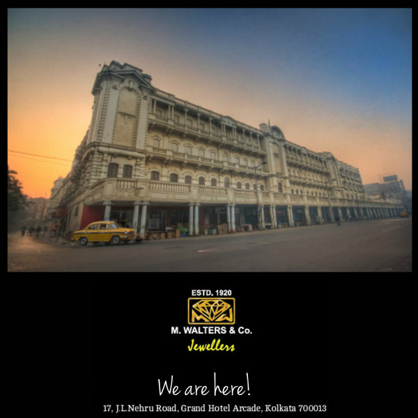 Located at The Oberoi Grand Arcade, Calcutta. M Walters & Co Jewellers