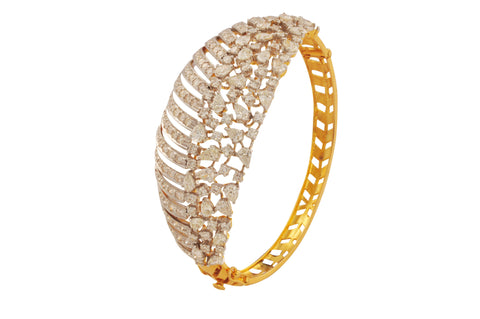 Bhava Diamond Gold Bracelet - M Walters Jewellery