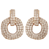 Akshara Diamond Stud Earrings - M Walters Jewellery