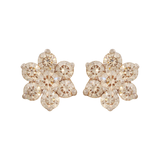 Anjali Diamond Stud Earrings - M Walters Jewellery