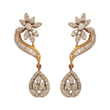 Alabhya Diamond Drop Earrings - M Walters Jewellery