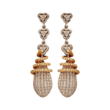 Aviddha Diamond Drop Earrings - M Walters Jewellery