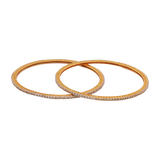 Shri Hand Crafted Diamond Bangles - M Walters Jewellery