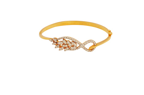 Ayati Graceful Diamond Gold Bracelet - M Walters Jewellery