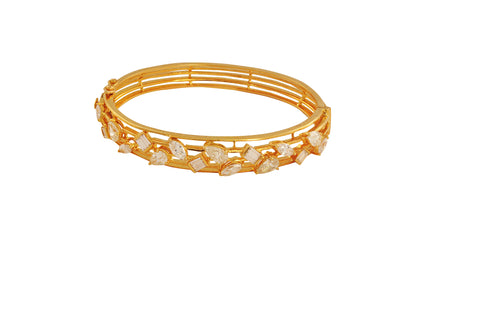Guruta Finest Diamond Gold Bracelet - M Walters Jewellery