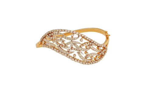 Sujata Beautiful Diamond Gold Bracelet - M Walters Jewellery