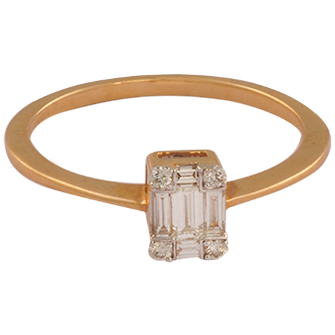 Dhriti Diamond Gold Rings - M Walters Jewellery