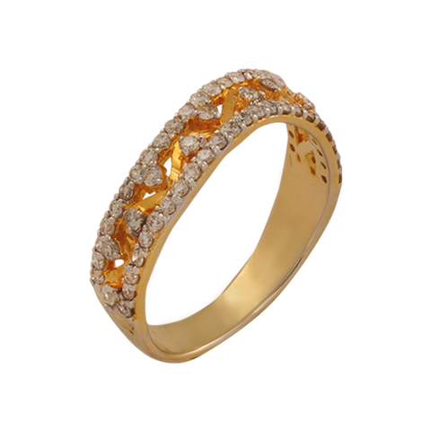 Arya Diamond Gold Rings - M Walters Jewellery