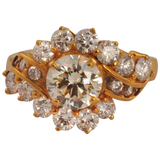 Mudita Diamond Gold Rings - M Walters Jewellery