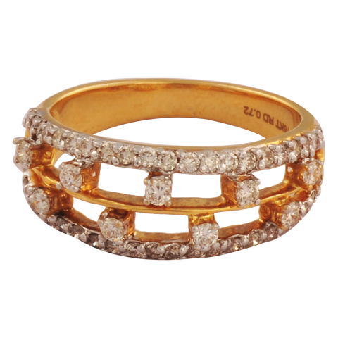 Ujjvala Diamond Gold Rings - M Walters Jewellery